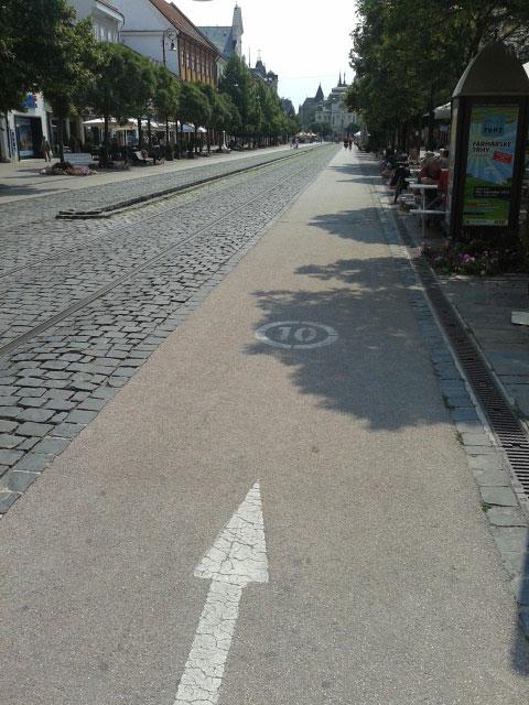 фото велосипедной дорожки