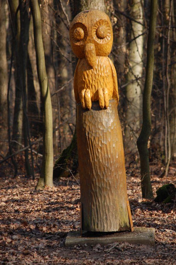 фото деревянной совы