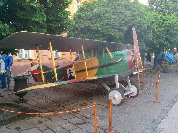 фото истребителя SPAD S.XIII
