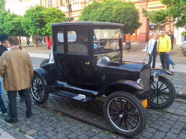 фото Ford T 1918 года