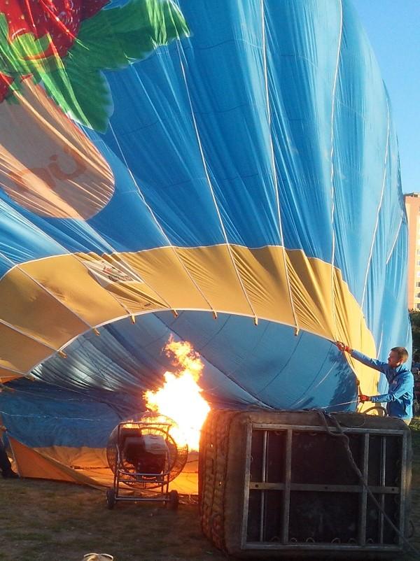 фото газовой горелки на воздушном шаре