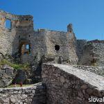 фото крепостной стены Спишского града