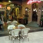 фото рождественского кафе