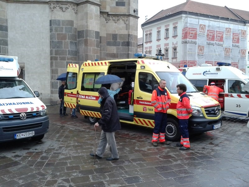 фотография машины скорой помощи в Кошице