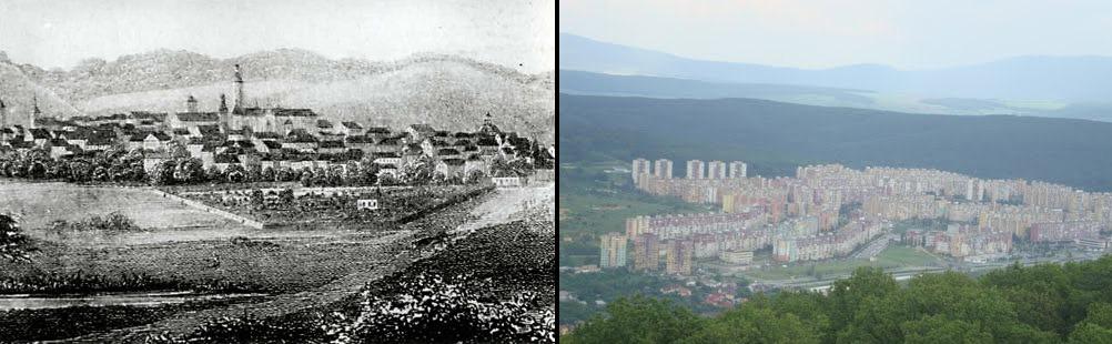 Панорамная фотография Кошице