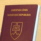 фото словацкого паспорта