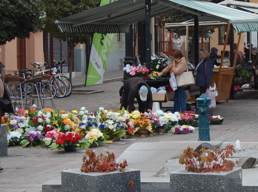 Рынок в Словакии в октябре