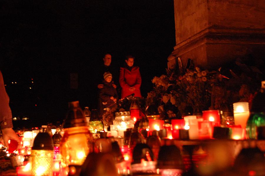 В День памяти всех усопших, Словакия
