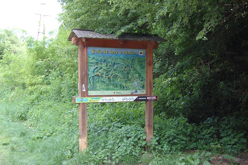 фото туристической карты в Словакии