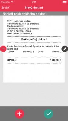 Так выглядит чек в Android