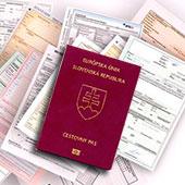 документы для гражданства словакии
