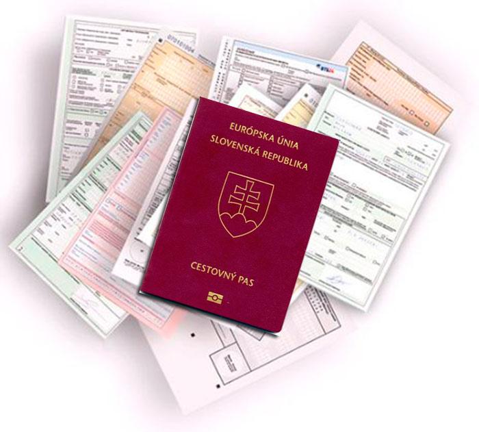 гражданство словакии документы