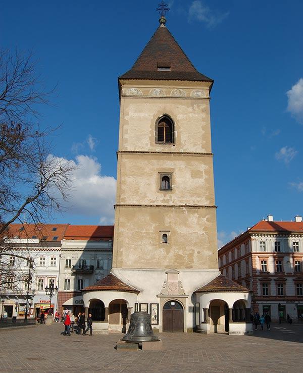 Башня Святого Урбана в Кошице