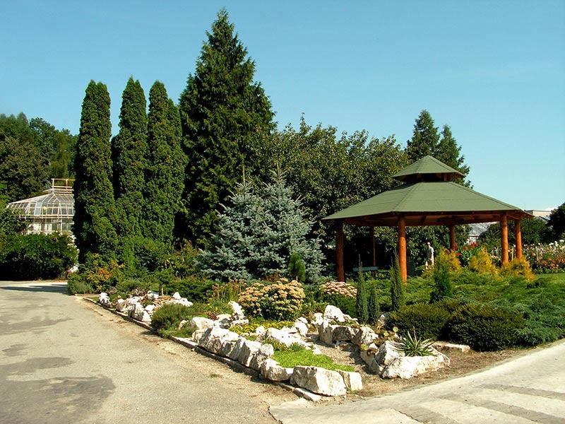 Ботанический сад в Кошице