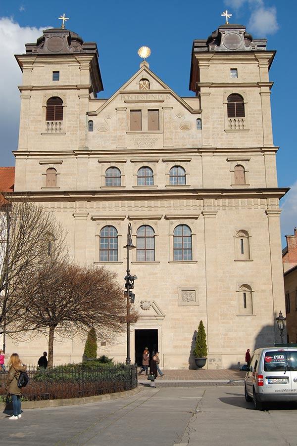 Церковь Святой Троицы в Кошице