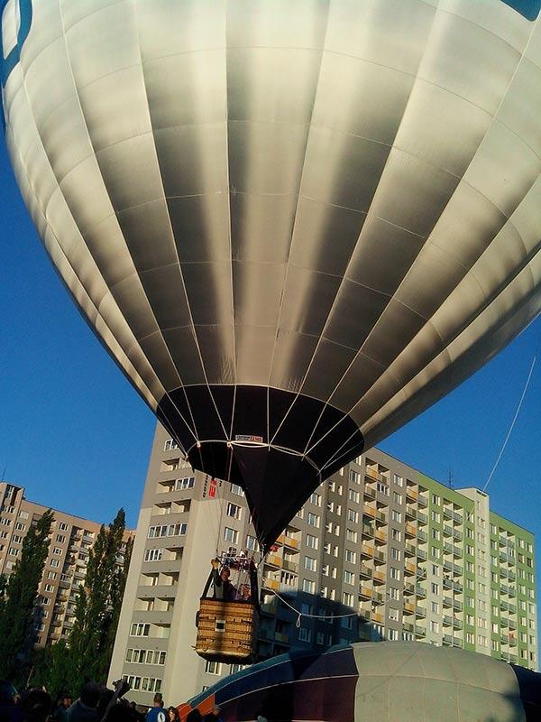 Фестиваль воздушных шаров в Кошице