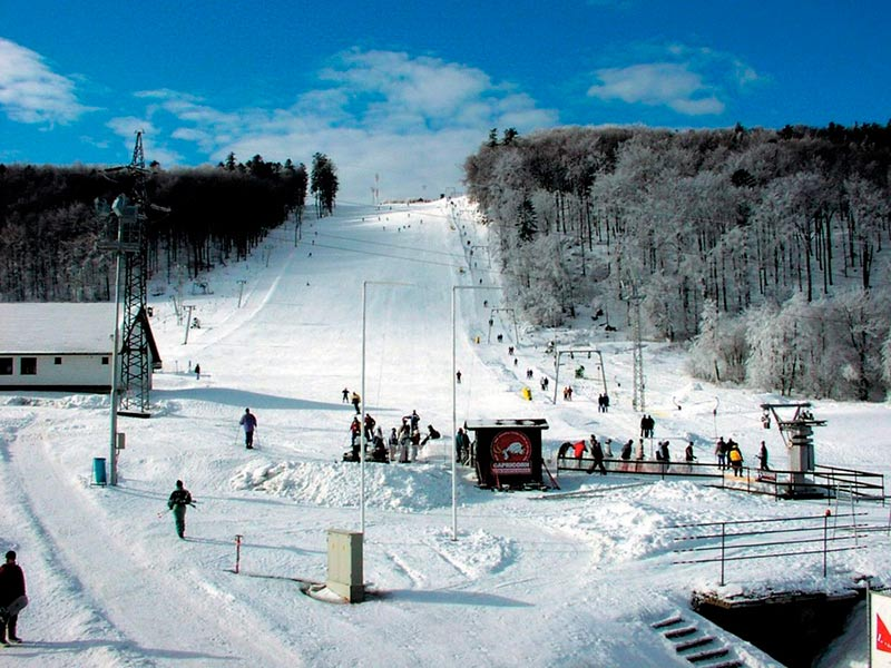Лыжный курорт Jahodná
