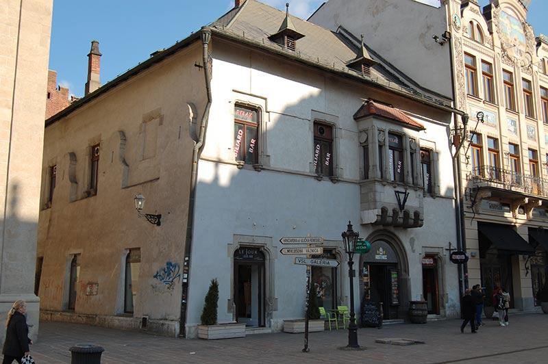 Levočský dom в Кошице