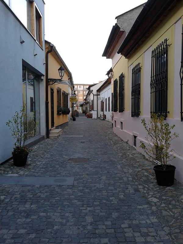 Переулок ремесел в Кошице