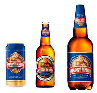 Лучшее пиво Словакии - Smädný Mních 10 % - светлое пиво