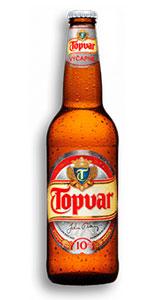 Лучшее пиво Словакии - Topvar 10 % светлое