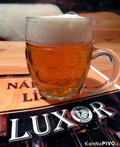 Лучшее пиво Словакии - LUXOR 12 % - Pivovar ŠEMRÁK в Кошице