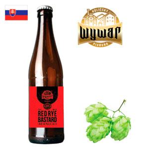 Лучшее пиво Словакии верхового броженияRed Rye Bastard 15 %
