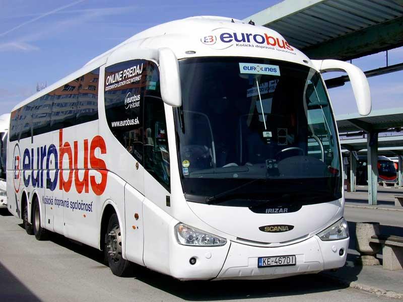Автобус Eurobus Кошице