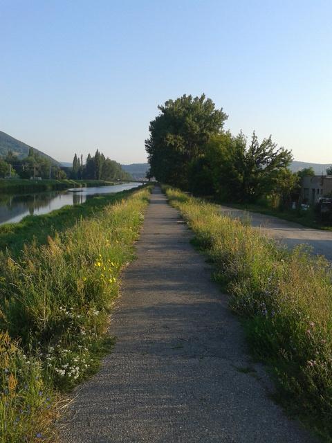 Кошице, Словакия. Беговая дорожка.