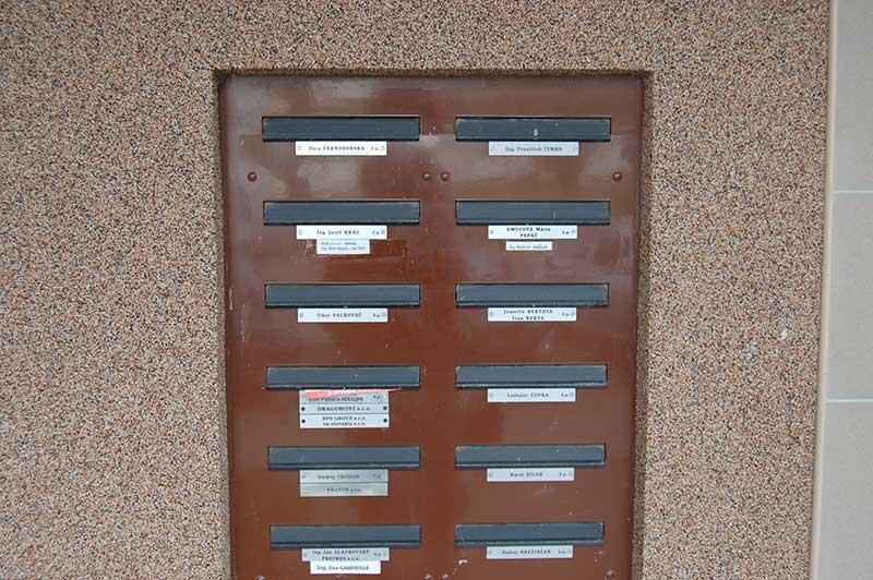 Именные почтовые ящики в Словакии