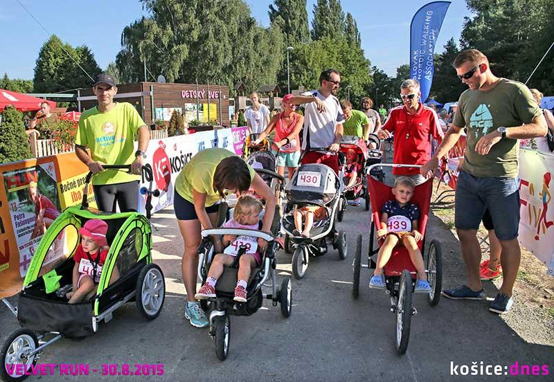 Беговые соревнования Velvet Run в Кошице