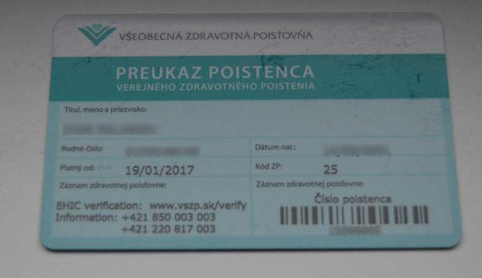 страхование детей в Словакии