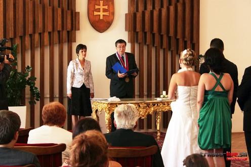 Бракосочетание в Словакии