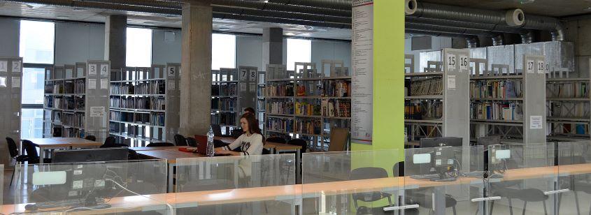 фото библиотеки Технического университета в Кошице