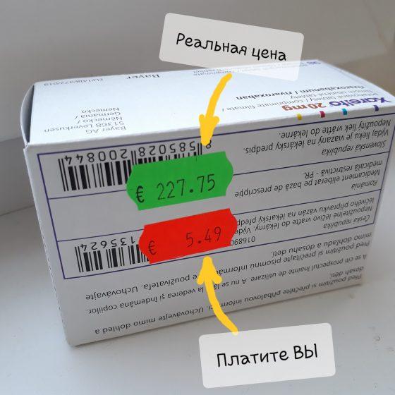 Лекарства в Словакии