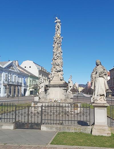 Чумная колонна в Кошице